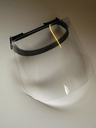 Clear Plastic Chainsaw Strimmer protective visor